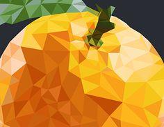 "Check out new work on my @Behance portfolio: ""geometric orange :)"" http://be.net/gallery/48966227/geometric-orange-)"