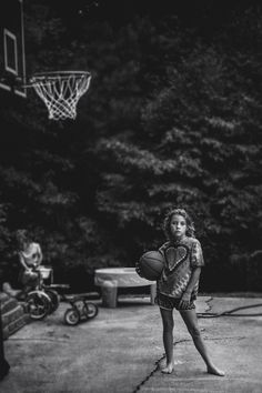 """""""I wanted to let my daughters know that who they naturally are is enough."""" See 12 more photos from Kate Parker's powerful """"Strong Is the New Pretty"""" photo series."""
