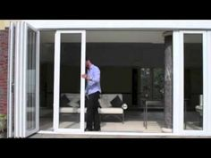 Panoramic Doors Custom Folding Sliding Glass Exterior Doors For Patio, Commercial Use VERY REASONABLY PRICED!