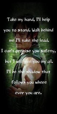 Fogd meg a kezem, én segítek hogy álljon. tolt nekem Elviszem a vezetést. Nem ígérhetem, hogy biztonságosan, de adok én minden. Én leszek az árnyék következik, hogy hol valaha is van. More