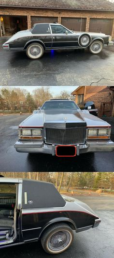 """1980 Cadillac Seville """"Superfly"""" [Fully Custom/Chopped] Coach Builders, Tinley Park, Chrome Wheels, Air Conditioning System, Superfly, Led Headlights, Entertainment System, Seville, Cadillac"""