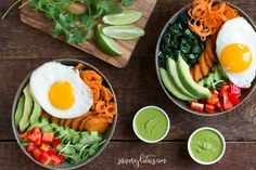 Veggie Breakfast Bow