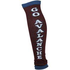 Colorado Avalanche Ladies Go Team Leg Warmers - Burgundy