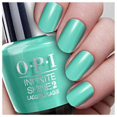 OPI summertime nail polish favorites #ontheblog #blogpost #nails #nailpolish #nailcolor #opi #opinails #tealnails