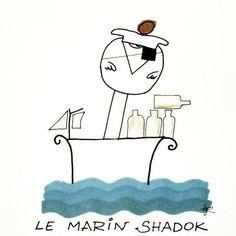 Contrairement aux gens de son espèce qui passent généralement leur temps à introduire des petits bateaux dans une bouteille, lui, il introduisait des bouteilles dans son petit bateau
