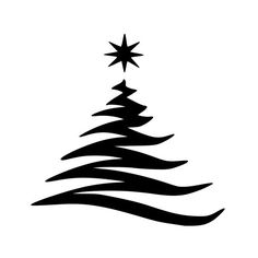 44 Ideas Tree Silhouette Stencil In Love For 2019 Christmas Tree Stencil, Christmas Tree Silhouette, Christmas Wood, Modern Christmas, Christmas Holidays, Christmas Crafts, Christmas Decorations, Merry Christmas, Christmas Trees