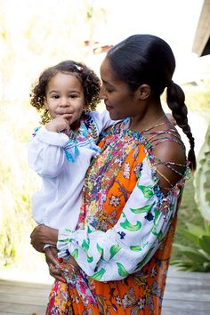 Cross-cultural parenting with the model-turned-entrepreneur