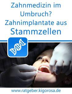 Zahnmedizin im Umbruch? Zahnimplantate aus Stammzellen Holding Hands, Dental Implants, Health Professional, Umbilical Cord, Dentistry, Dental Caries