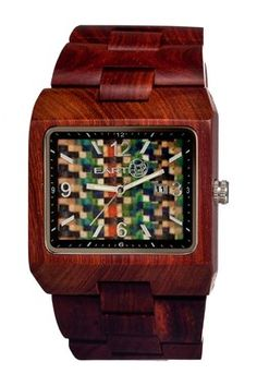Unisex Earth Rhizomes Watch