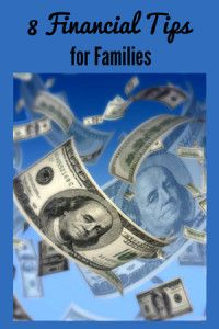 Financial Tips for Families. #frugal