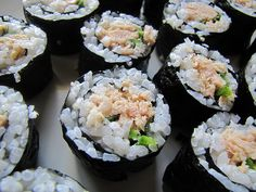 Spicy (Canned) Tuna Rolls. Easy & cheap sushi? Yes please!