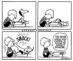 #peanutsspecials #pnts #schulz #snoopy #schroeder #smack #neverknow #chopin