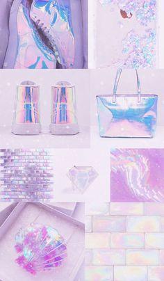 Iridescent Vibes #iridescent #unicorn #mermaid #pastelaesthetic