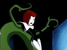Poison Ivy (The New Batman Adventures) Poison Ivy Batman, Poison Ivy Cartoon, Poison Ivy Dc Comics, Cartoon Kunst, Cartoon Icons, Cute Cartoon, Cartoon Art, Bruce Timm, Joker And Harley