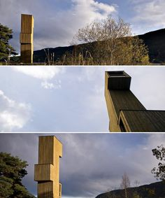 Rintala-Eggertsson Architects Seljord Lookout Points