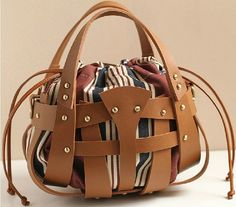 Lovely coffee brown Leather Tote/shoulder bag/hand bag/leather tote/