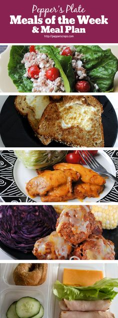 Pepper's Plate | Meals of the Week & Meal Plan | January 19th | Pepper Scraps