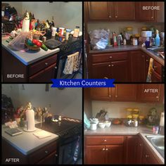 Silver Lining Organizders, LLC Organized Kitchen Counters