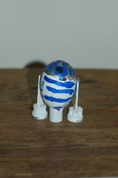 R2D2 decorated egg