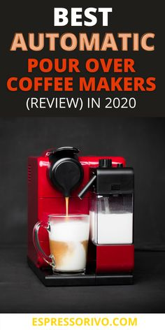 A cup of coffee can freshen your thoughts and day. This stimulating beverage has been keeping people awake and energized for years. Its rich aroma, the intoxicating smell, and the savory flavor of bitterness and sweetness are more than enough to make you craving for more. visit our website see them all.. #pourovercoffeemaker #Bestpourovercoffeemaker #AutomaticPourOverCoffeeMakers #espressorivo.com Coffee Maker Reviews, Pour Over Coffee Maker, Best Coffee Maker, Bitterness, Coffee Cans, Nespresso, Beverages, Make It Yourself, Thoughts