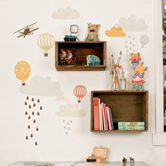 Love Mae: Up Up & Away Fabric Wall Decals