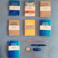 My Field Notes order has arrived! There is no such thing as too many notebooks. Now I have 21 more in my collection. And by the way, I guess The Pen Addict podcast has too much influence over me :) #fieldnotes #notebook #moleskine #penaddict #stationery #pencil #pen