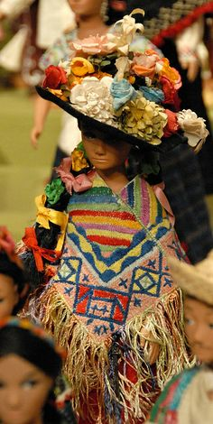 Doll From Michoacan Mexico