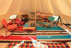 吉野山キャンプ場 キャンプ道具