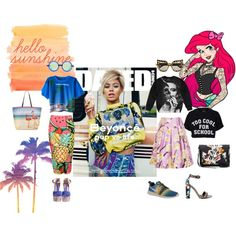 """Mix&Match: time for mixing prints and styles. Different summer prints and ladylike vs badboy streetstyle"" by blackblazerblog on Polyvore #polyvore #outfits #fashion #summerstyle #streetstyle"