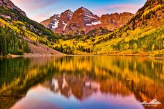 Items similar to Maroon Bells Sunrise - x on Etsy Colorado Plateau, Mountain States, The Great Escape, The Mountains Are Calling, Rocky Mountains, New Image, Beautiful Places, Dream Trips, Sunrises