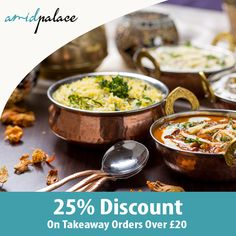 Amid Palace indian restaurant offers delicious Indian Food in Nuneaton, Coventry Browse takeaway menu and place your order with ChefOnline. Restaurant Order, Indian Food Recipes, Ethnic Recipes, Coventry, A Table, Palace, Curry, Menu