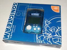 Sega Dreamcast Limited Edition Sonic Team VMU Clear Blue JPN #retrogaming #HotDC  In very good working condition. Boxed with manual. Limited edition that was only available in Japan years ago.
