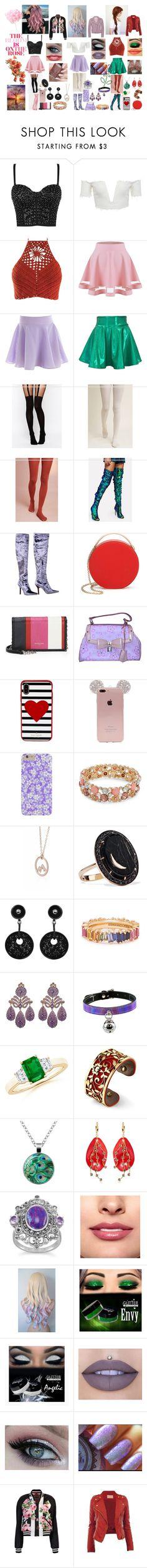 """""""Fashion #84"""" by juli2902 on Polyvore featuring ASOS, Pure + Good, Gucci, 3.1 Phillip Lim, Balenciaga, Louis Vuitton, Kate Spade, Design Lab, Andrea Fohrman and Giorgio Armani"""
