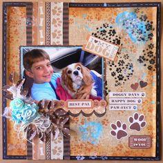 Kaisercraft papers - Furry Friends - Adriana Bolzon - http://abinspirations.blogspot.com/