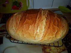 Hungarian Recipes, Best Food Ever, Bread And Pastries, Artisan Bread, No Bake Cake, Bread Recipes, Kenya, Food And Drink, Yummy Food