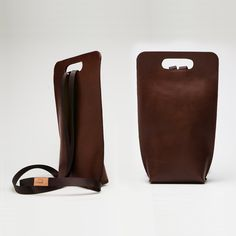 Fancy - Small Leather Backpack by Simple Be