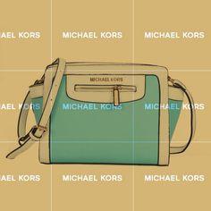 Michael Kors Selma Top-Zip Medium Blue Crossbody Bags. The world's premier online luxury fashion destination.