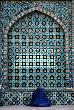 The Blue Mosque - Afghanistan