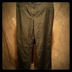 SILVER DRESS PANTS Silver Dress Pants (one belt loop is torn) Pants Boot Cut & Flare