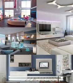50 High Tech Interior Design Ideas Modern Design Ideas With Photos Living Room Interior, Interior Design Living Room, Living Rooms, Estilo High Tech, Tech Room, Living Room Decor On A Budget, Interior Styling, Interior Ideas, Decoration