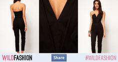 Negru este culoarea ta preferată pentru ținute elegante? Share!