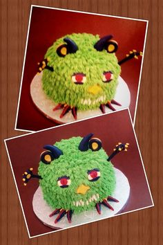 Green Monster cake