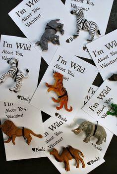 "FREE Printable ""Wild About You"" Valentine #diyvalentine #freeprintable"