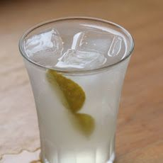 ... kaffir lime vodka, ¾ oz. ginger syrup, and fresh lemon juice. Shake