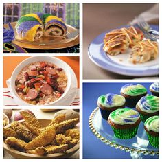Mardi Gras Recipes.