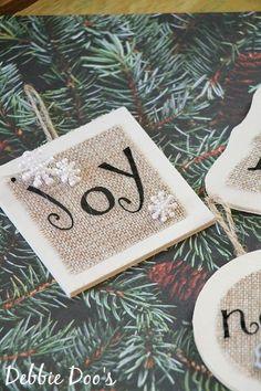 Handmade Christmas ornaments | Debbiedoos