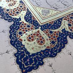 "223 Likes, 5 Comments - Emine Sultan... (@emine__sultann) on Instagram: ""#tezhip#tezhipsanati#hat#hatsanatı#arabicart#islamicart#arabiccalligraphy#islamiccalligraphy#altın#gold#geometrik#insta#instagoog#goodnight#hayırlısahurlar"""