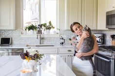 """""""The biggest compliment I get about our home is that it feels inviting. It feels lived in and comfortable. While I love having a home that looks beautiful, I never want it to feel sterile or untouchable."""""""