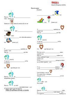 Juanes y los verbos irregulares en Presente de Indicativo