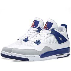Chaussures authentique 378037-117 Air Jordan 11 Retro Blanc / Noir Legend Bleus Hommes